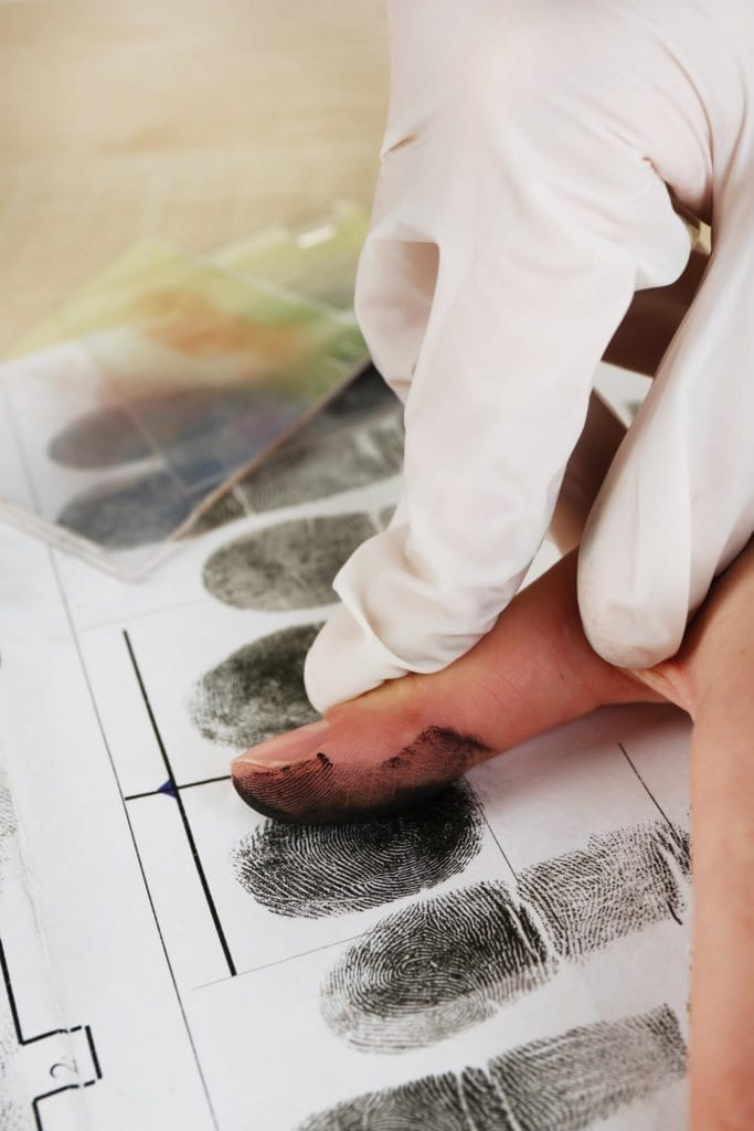 Criminal Justice Fingerprints