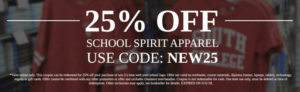 25% Off Apparel