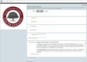 South College School Messenger Screenshot