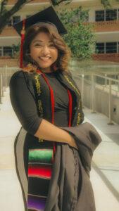 Asucena Delapaz-Ruiz, Bachelor of Science in Criminal Justice